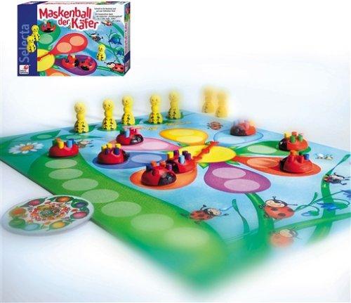 Kinderspiel des Jahres 2002 - Maskenball der Käfer - Spielmaterial