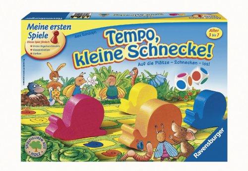 Tempo kleine Schnecke - Kinderspiel von Ravensburger
