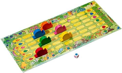Tempo kleine Schnecke - Spielbrett des Kinderspiels