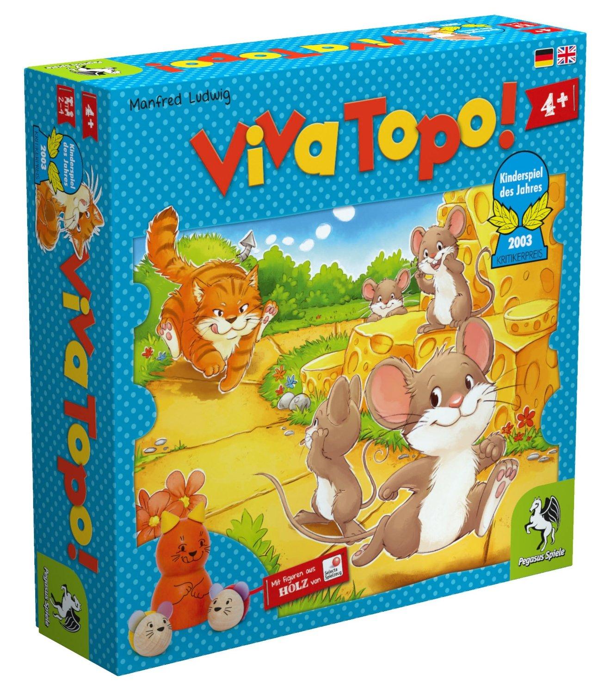 Kinderspiel Viva Topo Neuauflage Pegasus Spiele
