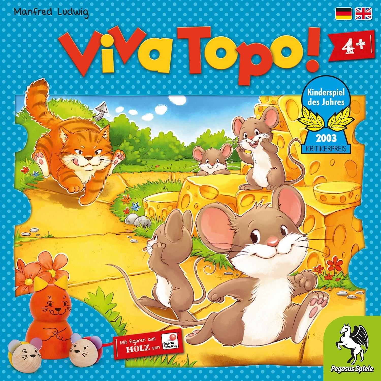 Viva Topo Neuauflage Pegasus spiele