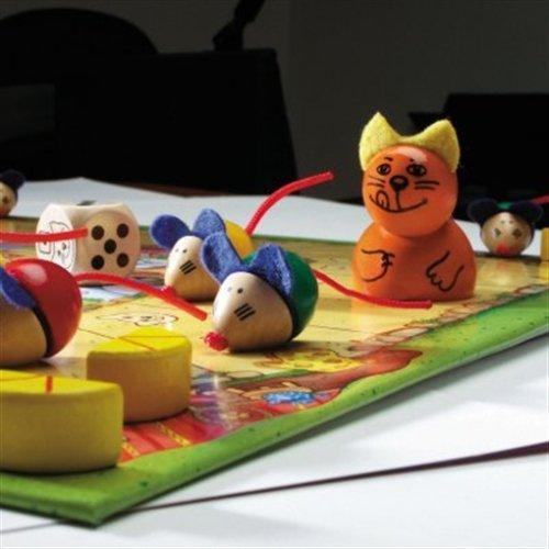 Spielmaterial von Viva Topo - Kinderspiel des Jahres 2003 von Selecta