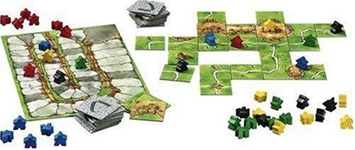 Carcassonne - Das Spiel des Jahres 2001 von Hans im Glück Verlag - Spielmaterial