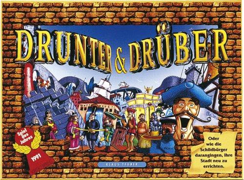 Drunter & Drüber - Spiel des Jahres 1991 von Hans im Glück