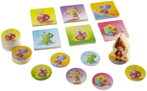 Linus der kleine Magier - Spielmaterial des Kinderspiels