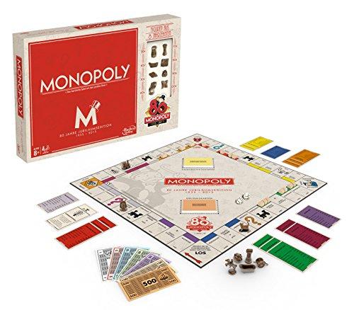 Jubiläumsedition 80 Jahre Monopoly Brettspiel