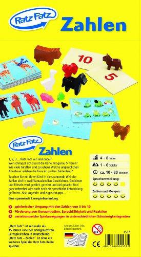 Ratz Fatz - Zahlen - Lernspiel von HABA