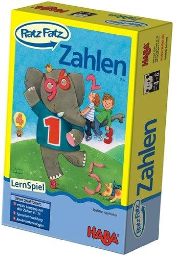 Ratz Fatz - Zahlen Lernspiel von HABA Kinderspiel