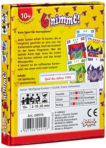 Sechs nimmt! - Kartenspielpackung
