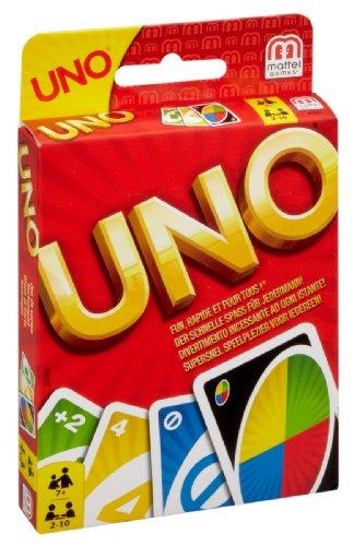Uno - Das Kartenspiel von Mattel - Familienspiel