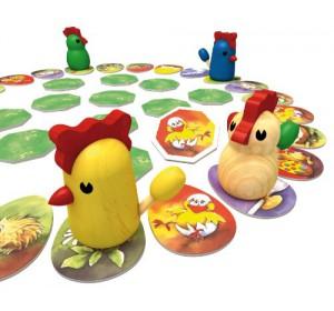 Kinderspiel Zicke Zacke Hühnerkacke