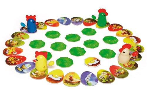 Spielmateria Kinderspiel Zicke Zacke Hühnerkacke