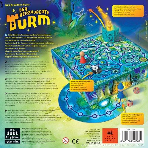 Der verzauberte Turm - Kinderspiel des Jahres 2013 - Drei Magier Spiele