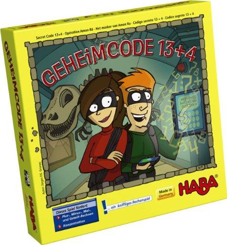 Geheimcode 13+4 Haba Lernspiel Mathematik