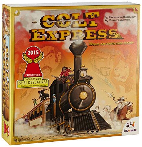Spiel des Jahres Nominees for 2015: Colt Express, Machi ...